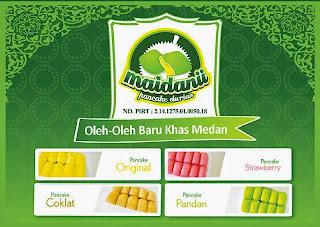 Pancake Durian, Oleh Oleh Khas Medan