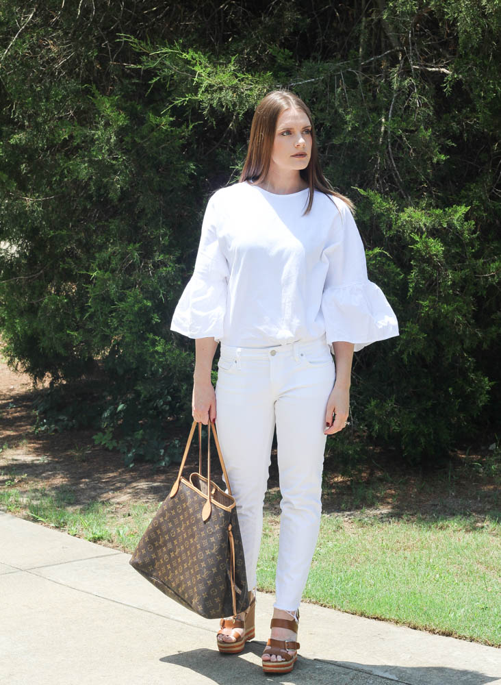 how to style all white for summer