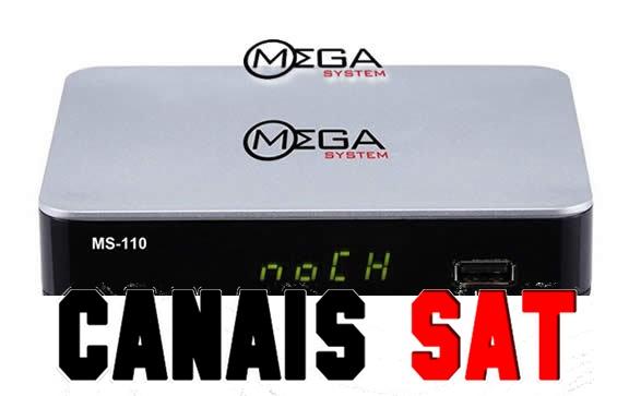 Mega System MS110 Nova Atualização V110 - 22/04/2019