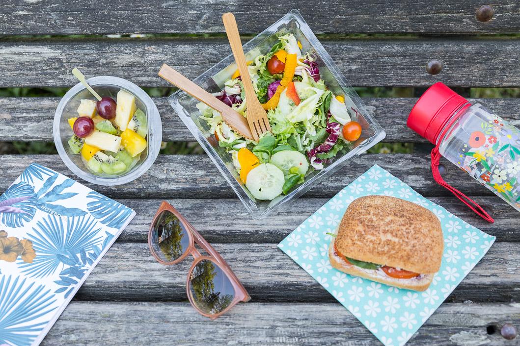 Pause déjeuner pique nique