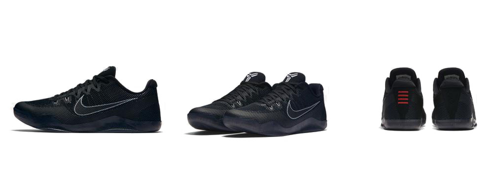 Sepatu Basket Nike Kobe XI Dark Knight Original