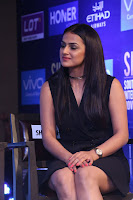 Actress Shraddha Srinath Stills in Black Short Dress at SIIMA Short Film Awards 2017 .COM 0048.JPG