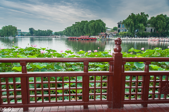 Lago Shichahai del viejo Pekin