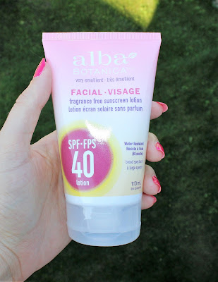 Alba Botanica Facial Sunscreen Lotion SPF 40