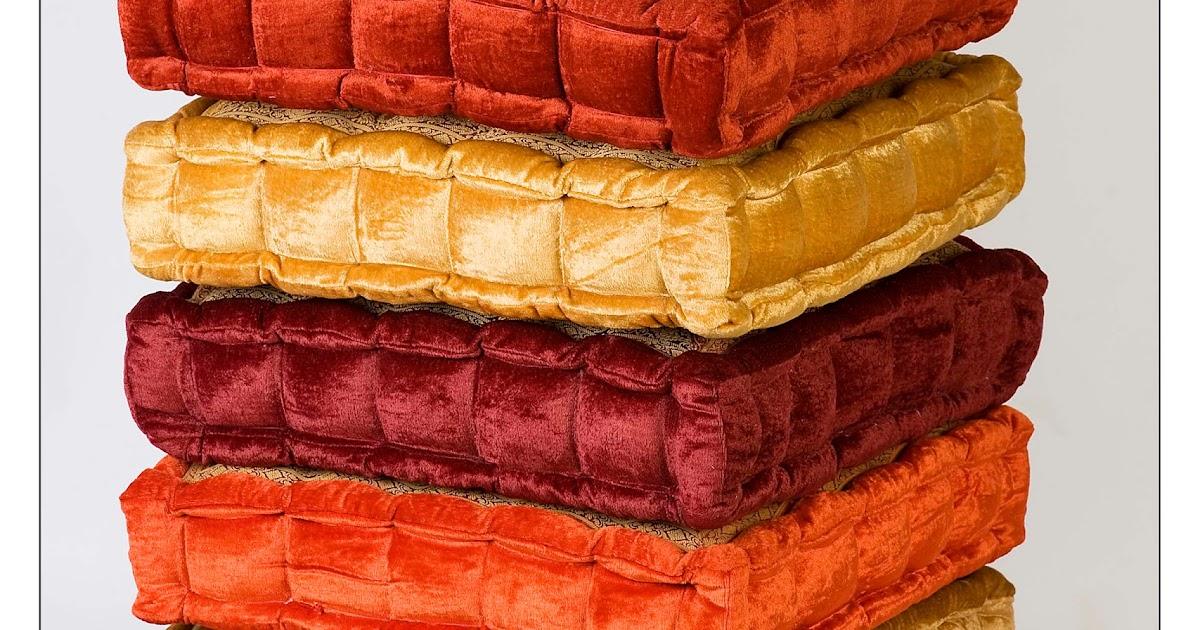 Monsoon Craftcom Velvet floor Cushions