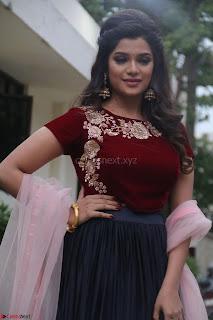 Actress Aathmika in lovely Maraoon Choli ¬  Exclusive Celebrities galleries 026.jpg