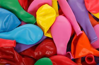 Verschiedene Luftballons