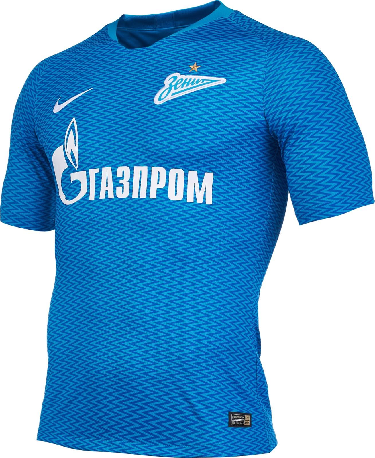 f5ef0392d66 Nike 2018-2019 Zenit Home Football Soccer T-Shirt Trikot