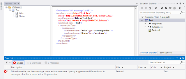 schema type as its namespace
