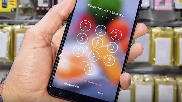 Cara Flash Oppo F5 Lupa Pola/PIN Keamanan