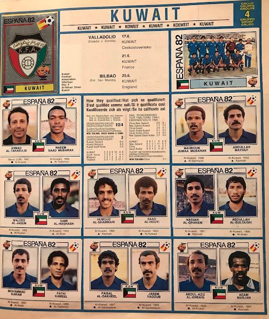Kuwait Spagna 1982