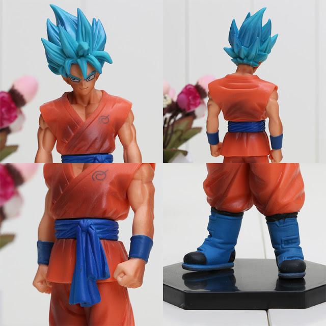 Jual Action Figure Dragon Ball Z Revival of F - Son Goku Super Saiya God SS Special Figure vol.1