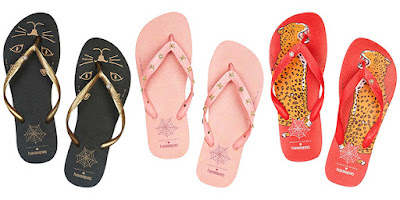 colecao charlotte olympia havaianas