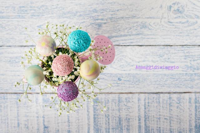 Cake pops primaverili-Spring cake pops