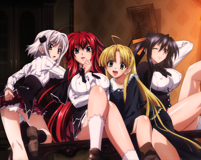 Highschool DxD Mobage Cards
