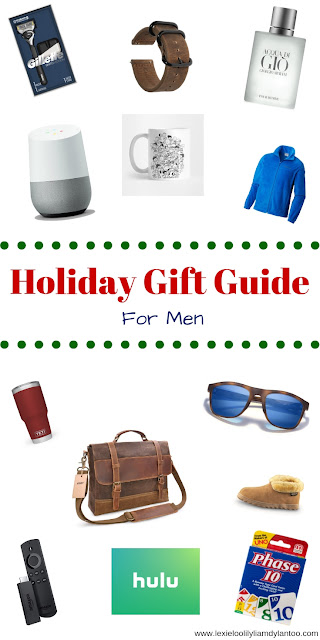 Holiday Gift Guide For Men #giftguide #holidaygiftguide #mensgifts #mensgiftguide #blogger #momblogger #Christmas #ChristmasGifts
