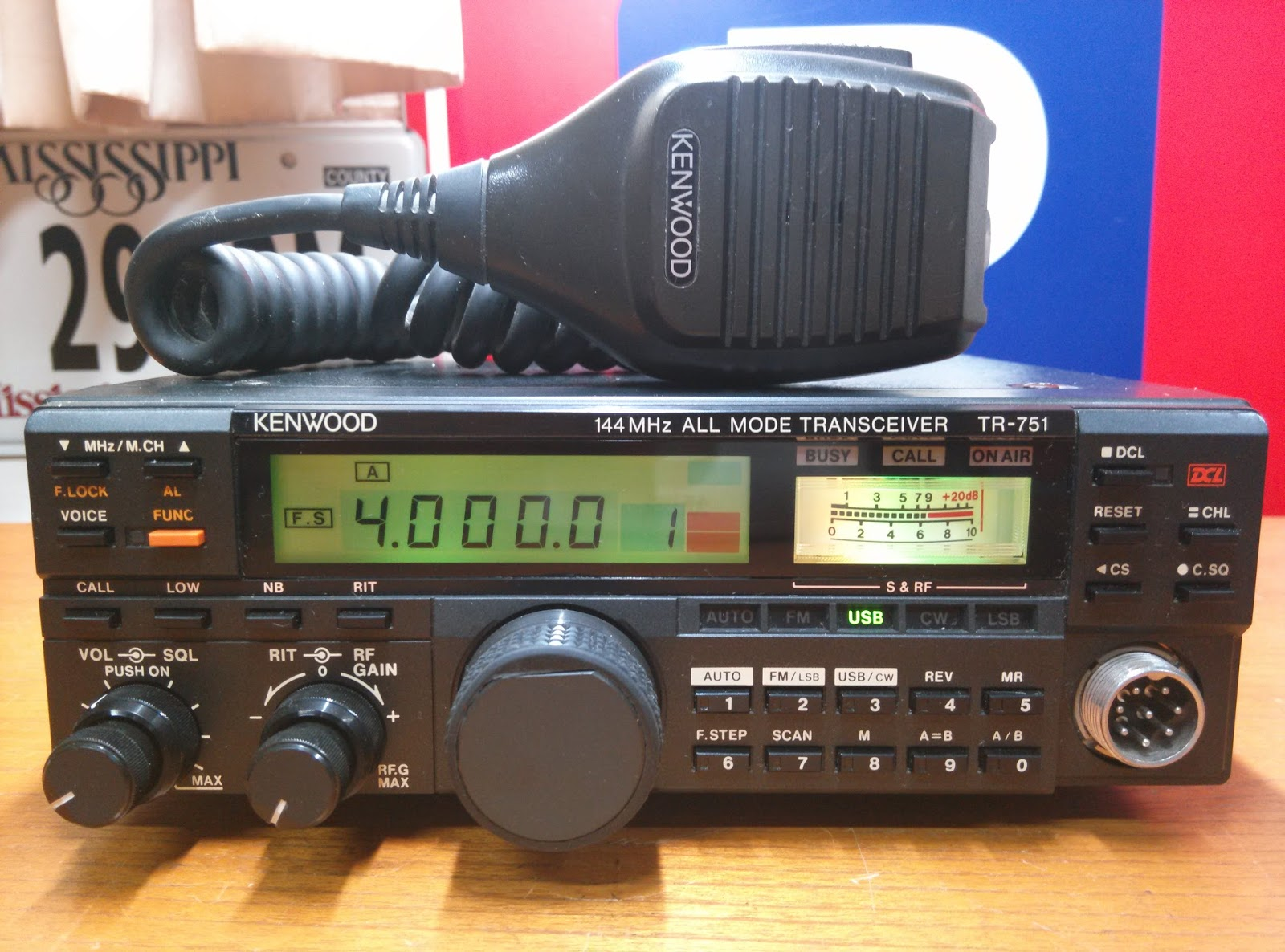 Heru-RadioMart: KENWOOD TR-751 VHF ALL MODE TRANSCEIVER S/N
