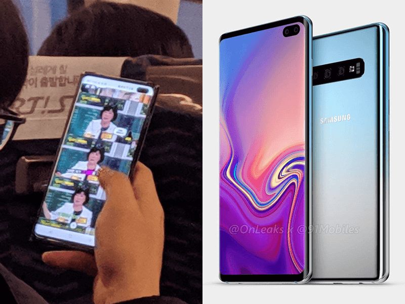 Alleged Samsung Galaxy S10 spotted in real life by Reddit user!