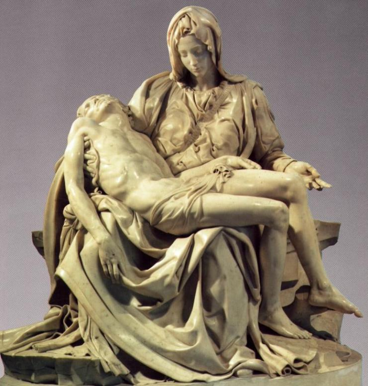 Resultado de imagen de piedad del vaticano