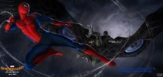 un nuevo vistazo al buitre en spider-man: homecoming. Confirmado michael keaton