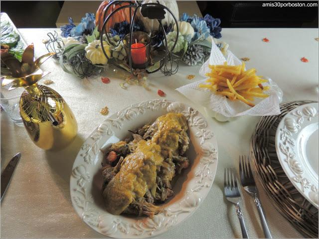 Cena de Acción de Gracias 2017: Perdices en Escabeche