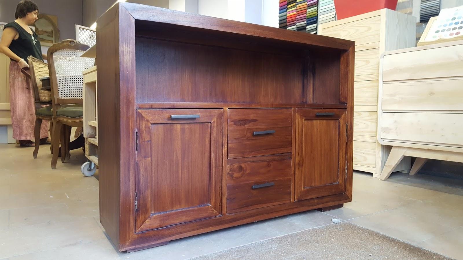 Mueble Teca Cool Muebles De Madera Teca Rack Mueble Para  # Muebles Teca Interior