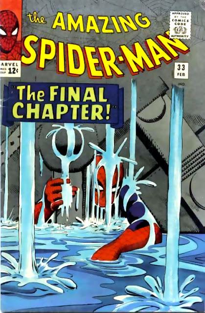 """O Espantoso Homem-Aranha #33 - """"O Capitulo Final"""""""