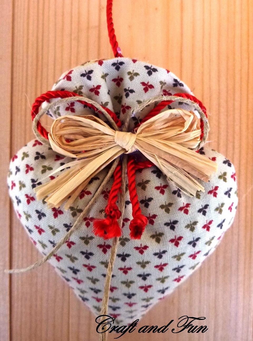 Estremamente Riciclo Creativo - Craft and Fun: Cucito creativo San Valentino NI08