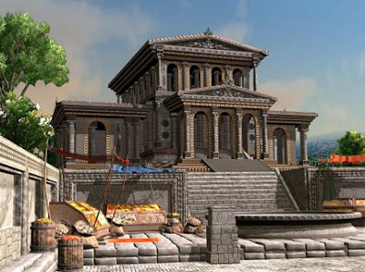 Far Future Horizons The Great Library Of Alexandria