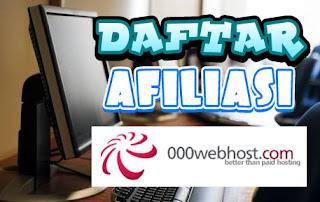Cara Mendaftar Afiliasi 000webhost Terbaru