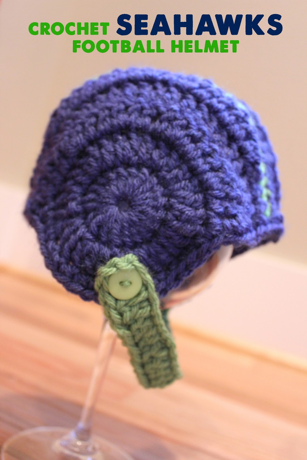 Crocheted Football Helmets - Repeat Crafter Me