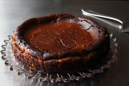 """""""Burnt"""" Basque Cheesecake - Yes, On Purpose"""