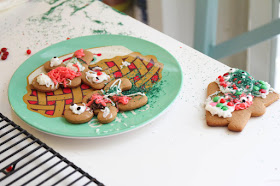 These basic gingerbread cookies are soft but sturdy and perfect for decorating!