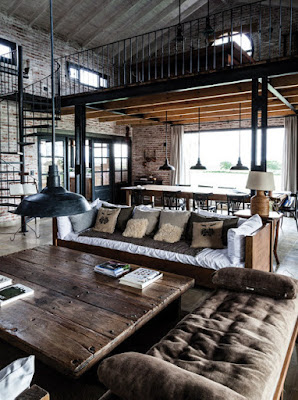 Beberapa Item Penting Yang Mengusung Desain Interior Bergaya Industrial