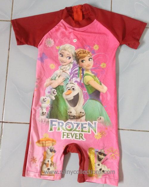 Rainy Collections Baju Renang Balita Karakter Frozen Brdp