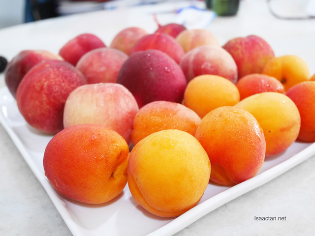 Peaches and Apricots