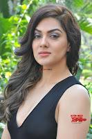 Sakshi Chaudhary in beuatiful black Deep neck Top and trousers at oollo pelliki kukka ~  Exclusive Galleries 042.jpg