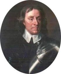 Oliver Cromwell  , el intérprete de Dios