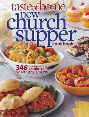 Taste of Home Church Supper Cookbook on Daily Favor Blog
