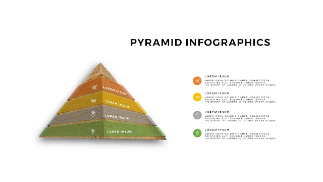 Realistic Pyramid Infographics Free PowerPoint Template Slide 2