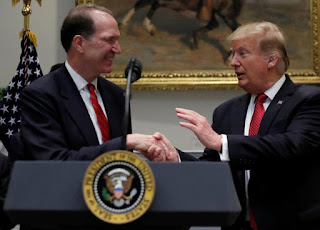 Trump nominates David Malpass for the post of President of the World Bank
