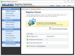 WinASO Registry Optimizer 5.5.0.0 Full Version