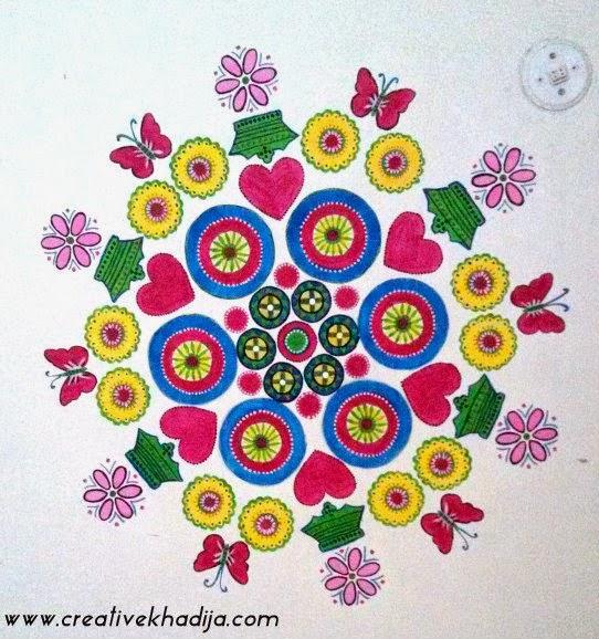 Spring Inspired Colorful Wallart Diy