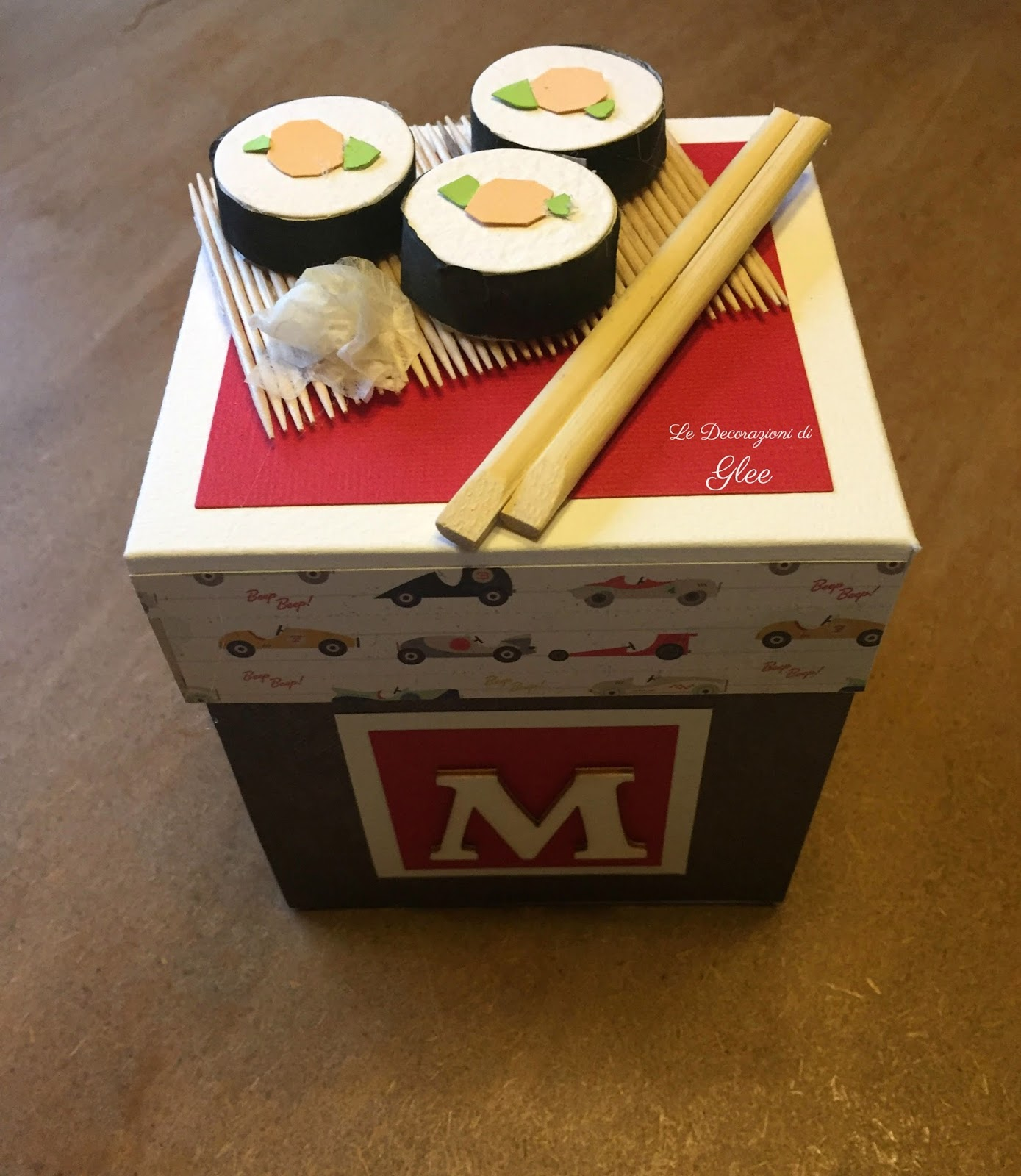 Auguri golosi per gli amanti del sushi