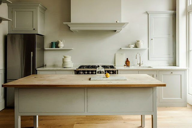 Plain English Kitchen Design. The English Center Island Takes The Place Of  The Scullery Work Table