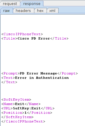 Cisco Unified Communications Manager (Call Manager) PIN brute force