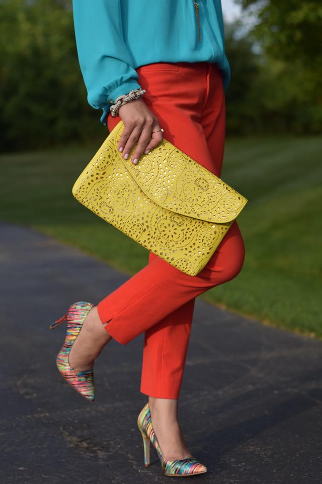 Colorful Summer Pumps-Patter Heels-Summer Heels-Fashion Blogger-Multi Color Pumps