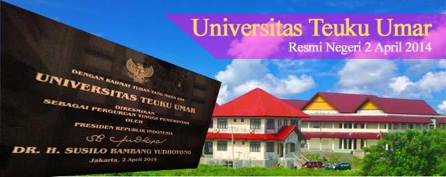 Info Pendaftaran Mahasiswa Baru (UTU) Universitas Tengku Umar