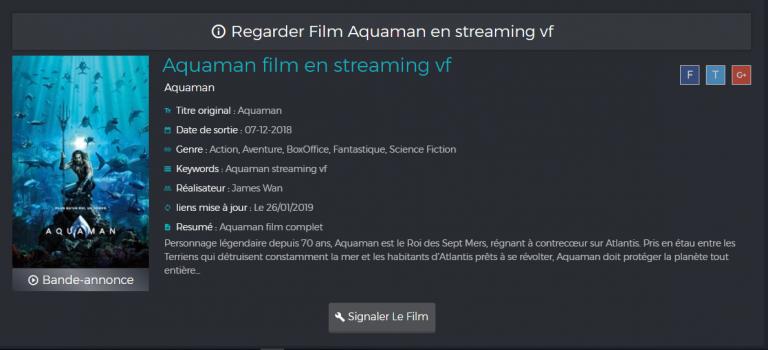 Filmstub.stream meilleur Plateforme de Streaming Français 2019