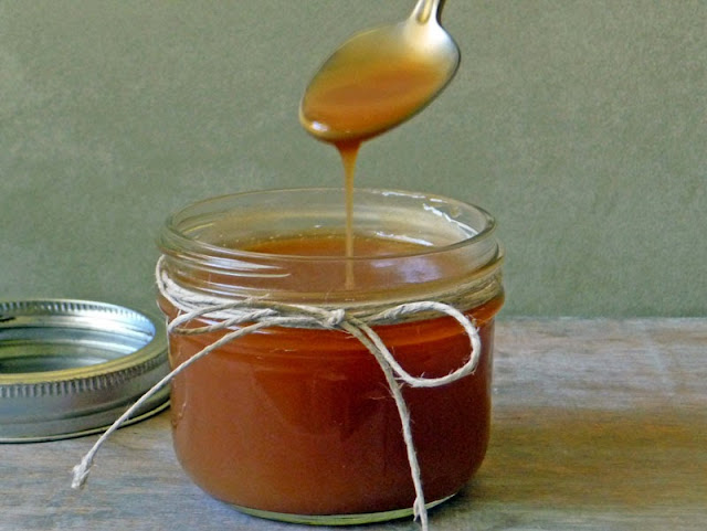 Homemade Caramel Sauce | by Life Tastes Good is a rich, creamy beautiful confectionery made by melting sugar and combining it with butter and cream. It is highly addictive! #Homemade #Caramel